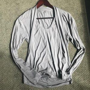 Dove Grey Long Sleeved T-shirt from lululemon